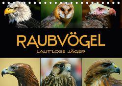 Raubvögel – lautlose Jäger (Tischkalender 2018 DIN A5 quer) von Bleicher,  Renate