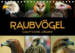 Raubvögel – lautlose Jäger (Tischkalender 2020 DIN A5 quer) von Bleicher,  Renate