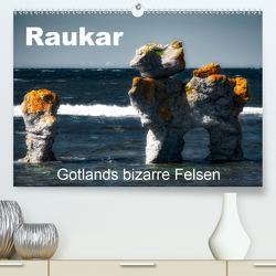 Raukar – Gotlands bizarre Felsen (Premium, hochwertiger DIN A2 Wandkalender 2021, Kunstdruck in Hochglanz) von Poling,  André