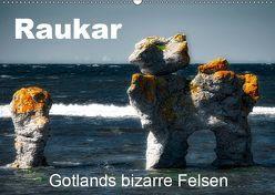 Raukar – Gotlands bizarre Felsen (Wandkalender 2019 DIN A2 quer) von Poling,  André
