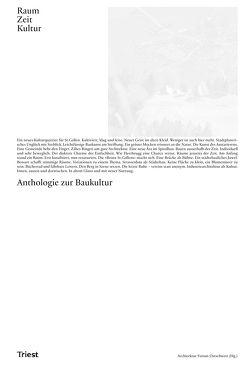 Raum. Zeit. Kultur von Hämmerle,  Marina, Hartmann Schweizer,  Rahel, Mack,  Gerhard, Schregenberger,  Thomas, Vogt,  Ueli, Wiegelmann,  Andrea