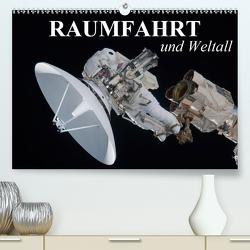 Raumfahrt und Weltall (Premium, hochwertiger DIN A2 Wandkalender 2021, Kunstdruck in Hochglanz) von Stanzer,  Elisabeth