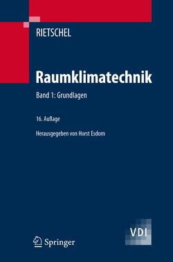 Raumklimatechnik von Esdorn,  Horst, Rietschel,  Hermann