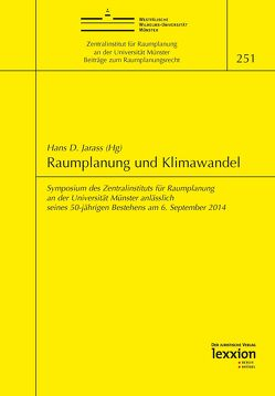 Raumplanung und Klimawandel von Jarass,  Hans D