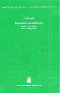 Raumstruktur und Stoffhaushalt von Mannsfeld,  Karl