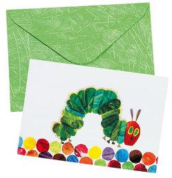 Raupe Nimmersatt Pop-up-Briefkarte Motiv Raupe Nimmersatt von Carle,  Eric