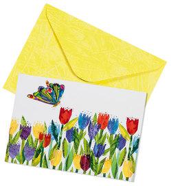 Raupe Nimmersatt Pop-up-Briefkarte Motiv Schmetterling von Carle,  Eric
