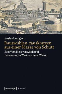 Rauswühlen, rauskratzen aus einer Masse von Schutt von Landgren,  Gustav