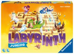 Ravensburger® 20847 – Junior Labyrinth – Familienklassiker für die Kleinen, Spiel für Kinder ab 4 Jahren – Gesellschaftspiel geeignet für 2-4 Spieler, Junior-Ausgabe von Kobbert,  Max