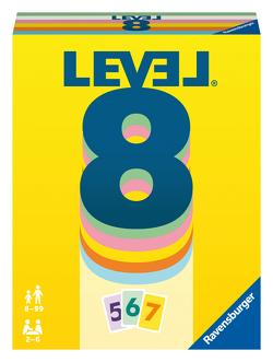 Ravensburger 20865 – Level 8, Das spannende Kartenspiel für 2-6 Spieler ab 8 Jahren