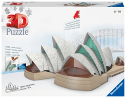 Ravensburger 3D Puzzle 11243 – Sydney Opera House – 216 Teile – Das Opernhaus Sydney zum selber Puzzeln ab 8 Jahren
