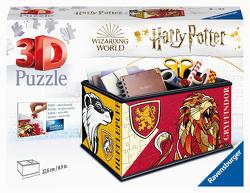 Ravensburger 3D Puzzle 11258 – Aufbewahrungsbox Harry Potter – 216 Teile – Praktischer Organizer für Harry Potter Fans ab 8 Jahren