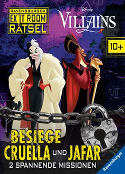 Ravensburger Exit Room Rätsel: Disney Villains – Besiege Cruella und Jafar von Lohr,  Stefan, Richter,  Martine, The Walt Disney Company