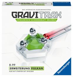 Ravensburger GraviTrax Kugelbahn – Erweiterung Action-Stein Vulkan 27619, für Kinder ab 8 Jahren und Erwachsene