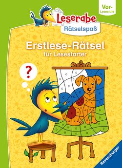 Ravensburger Leserabe Rätselspaß – Erstlese-Rätsel für Lesestarter ab 5 Jahren – Vor-Lesestufe von Bürgermeister,  Tanja, Penner,  Angelika