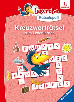 Ravensburger Leserabe Rätselspaß – Kreuzworträtsel zum Lesenlernen – 1. Lesestufe von Merle,  Katrin, Richter,  Martine, Schulmeyer,  Heribert
