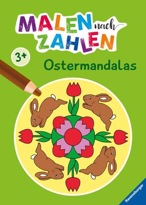 Ravensburger Malen nach Zahlen ab 3 Jahren Ferien – 24 Motive – Malheft für Kinder – Nummerierte Ausmalfelder von Merle,  Katrin, Penner,  Angelika