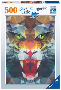 Ravensburger Puzzle – Löwe aus Ploygonen – 500 Teile