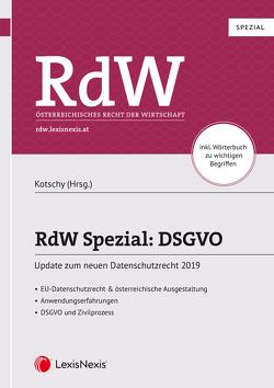 RdW Spezial: DSGVO von Kotschy,  Waltraut, Thiele,  Clemens