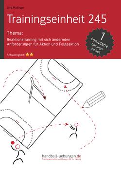 Reaktionstraining mit sich ändernden Anforderungen für Aktion und Folgeaktion (TE 245) von Madinger,  Jörg