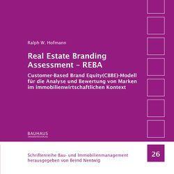 Real Estate Branding Assessment – REBA von Hofmann,  Ralph W.