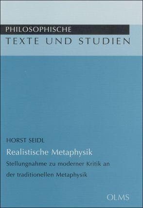 Realistische Metaphysik von Seidl,  Horst