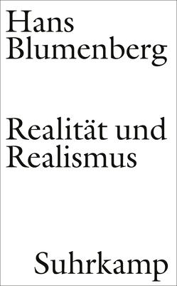Realität und Realismus von Blumenberg,  Hans, Zambon,  Nicola