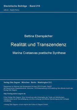 Realität und Transzendenz von Eberspächer,  Bettina