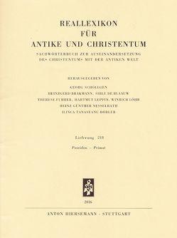 Reallexikon für Antike und Christentum