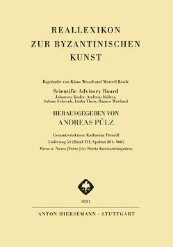 Reallexikon zur byzantinischen Kunst von Pülz,  Andreas
