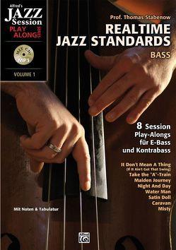 Realtime Jazz Standards / Realtime Jazz Standards – Bass von Stabenow,  Thomas