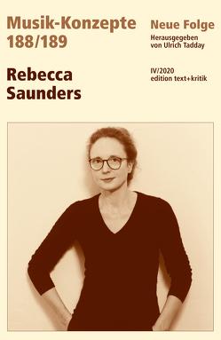 Rebecca Saunders von Tadday,  Ulrich