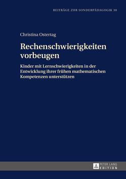 Rechenschwierigkeiten vorbeugen von Ostertag,  Christina