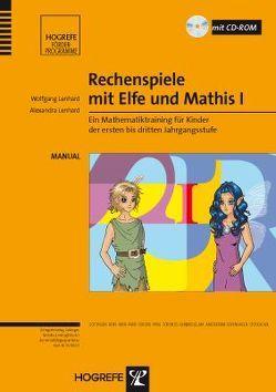 Rechenspiele mit Elfe und Mathis I von Lenhard,  Alexandra, Lenhard,  Wolfgang