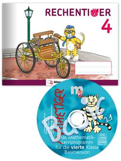 RECHENTIGER 4 mit CD-ROM von Laubis,  Thomas, Sagner,  Ida