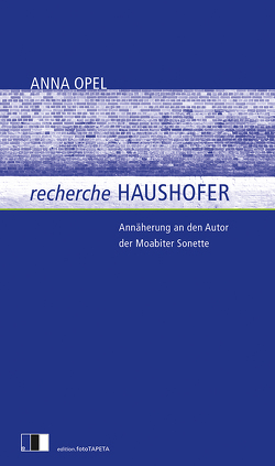 recherche HAUSHOFER von Opel,  Anna