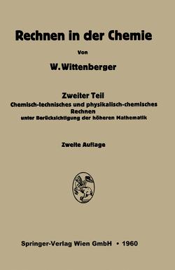 Rechnen in der Chemie von Wittenberg,  Walter