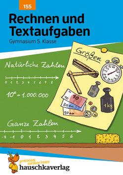 Rechnen und Textaufgaben – Gymnasium 5. Klasse von Simpson,  Susanne, Specht,  Gisela, Wefers,  Tina