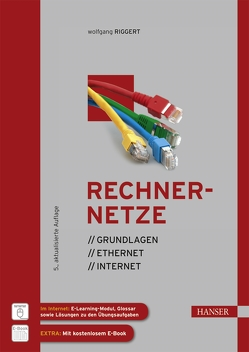 Rechnernetze von Lutz,  Michael, Märtin,  Christian, Riggert,  Wolfgang