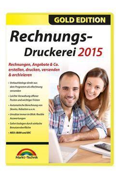 Rechnungsdruckerei 2015 – leichte Erstellung von Angebote, Lieferscheine, Rechnungen und Mahnungen