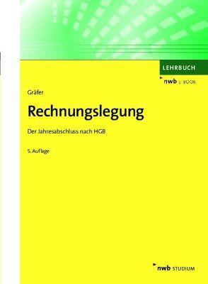 Rechnungslegung von Gräfer,  Horst