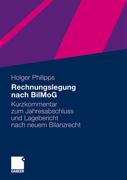 Rechnungslegung nach BilMoG von Philipps,  Holger