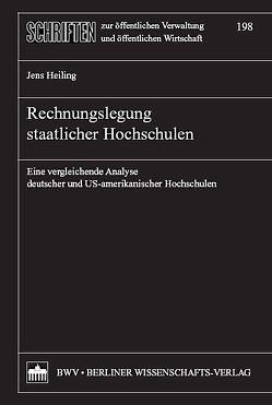 Rechnungslegung staatlicher Hochschulen von Heiling,  Jens
