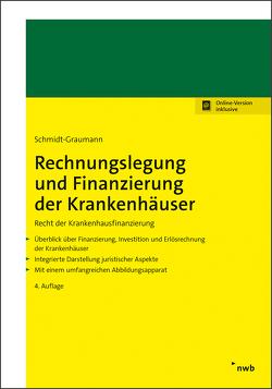 Rechnungslegung und Finanzierung der Krankenhäuser von Schmidt-Graumann,  Anke