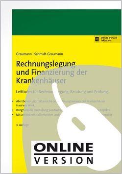 Rechnungslegung und Finanzierung der Krankenhäuser von Graumann,  Mathias, Schmidt-Graumann,  Anke