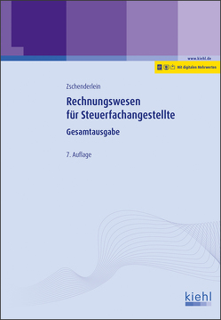 Rechnungswesen für Steuerfachangestellte von Zschenderlein,  Oliver