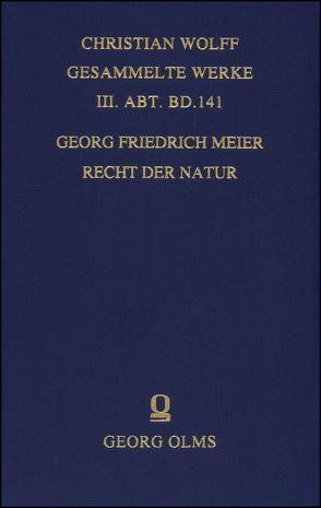 Recht der Natur von Meier,  Georg Friedrich