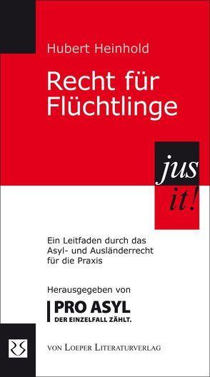 Recht für Flüchtlinge von Heinhold,  Hubert