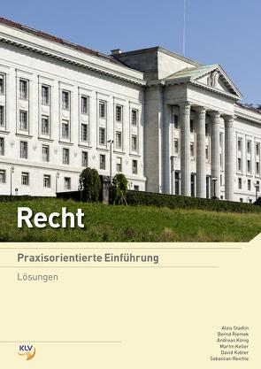 Recht von Keller,  Martin, Kobler,  David, Koenig,  Andreas, Reichle,  Sebastian, Riemek,  Bernd, Stadlin,  Alois