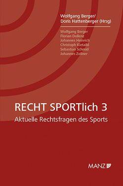 RECHT SPORTlich 3 von Berger,  Wolfgang, Hattenberger,  Doris